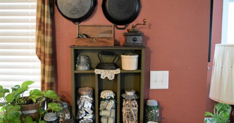 Repurposed Old Kitchen Drawer